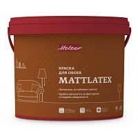 Краска Holzer MATTLATEX для обоев 2,5 л